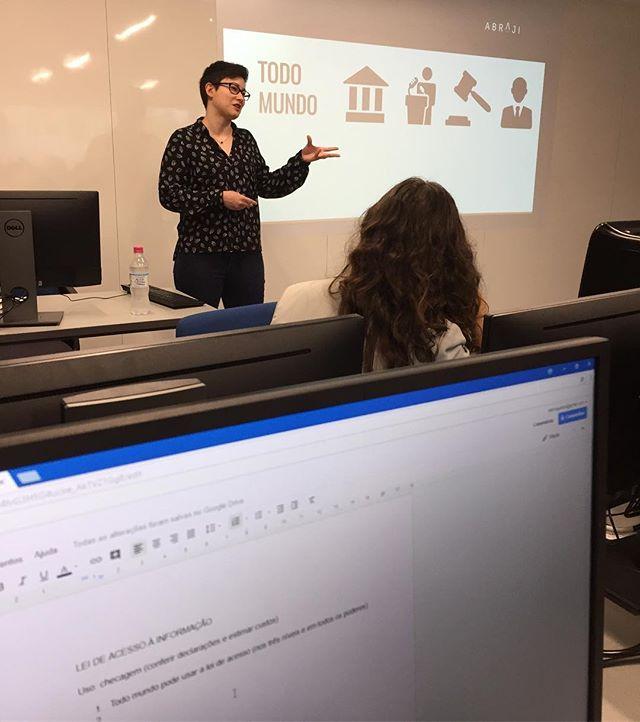 Achados e Pedidos realiza curso sobre Lei de Acesso à Informação em Porto Alegre