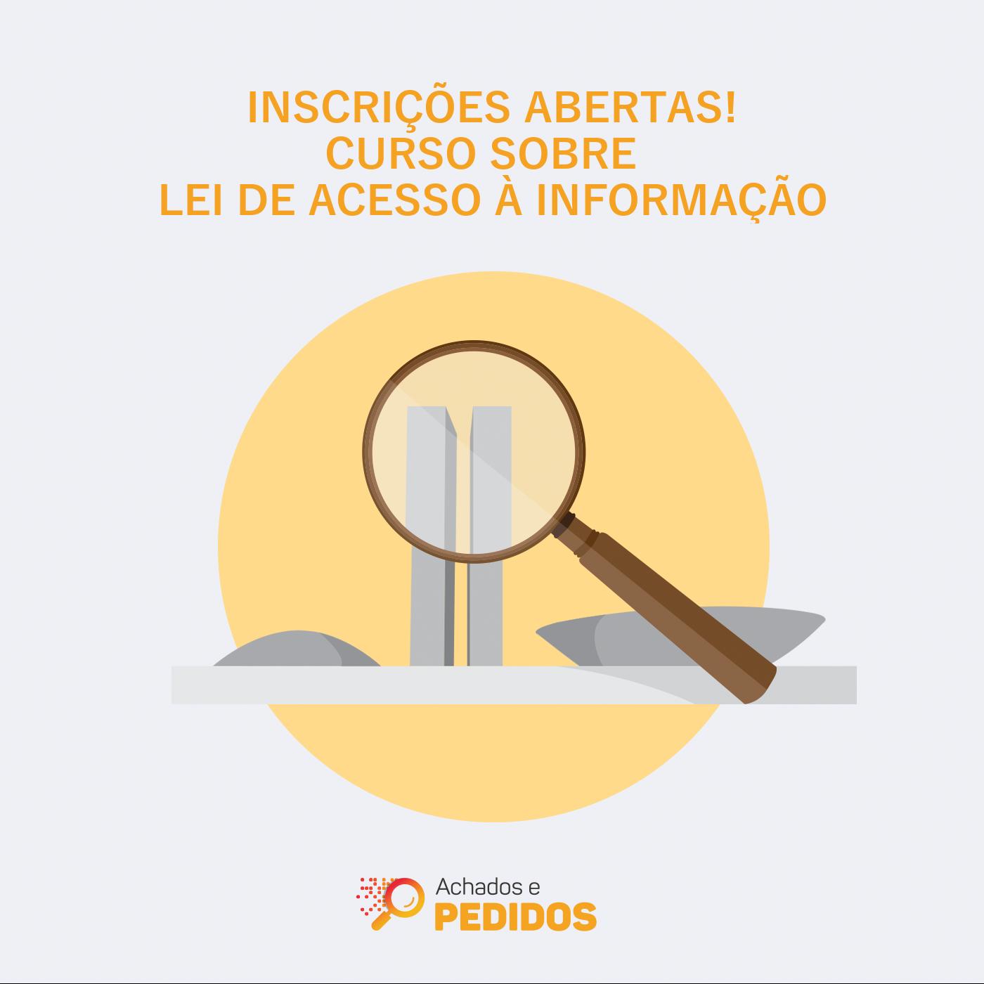 Inscrições abertas para curso on-line sobre Lei de Acesso a Informação