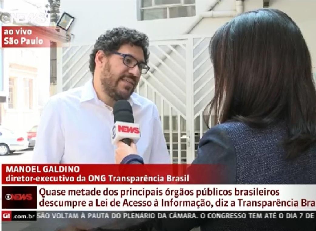 Levantamento do Achados e Pedidos na Globo News